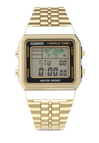 7047b1c9220 Shop Casio Casio A500WGA-1DF Watch Online on ZALORA Philippines