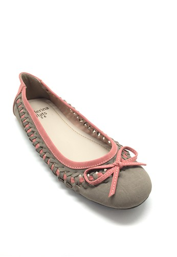 Ballerina Flats grey Tish BA617SH78AYZID_1