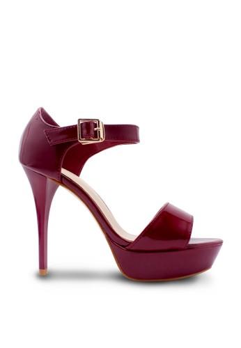 Karen&Chloe red Sepatu Wanita High Heel Maroon KA772SH09RXAID_1