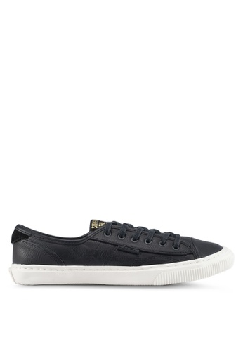 Superdry black Low Pro Luxe Trainers A4B19SH0C69C11GS_1