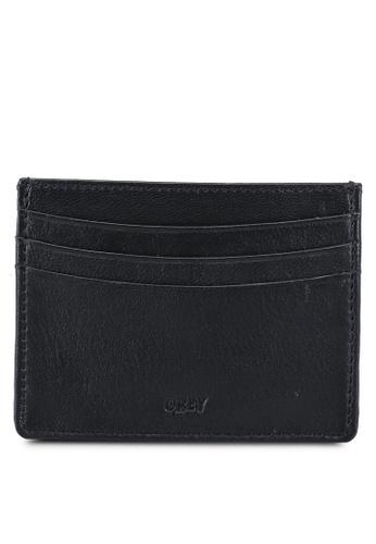 OBEY black Vandal Jumble ID Wallet F3CDCAC50B9F21GS_1