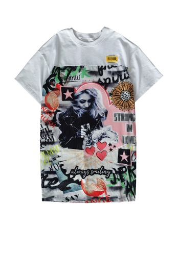 Twenty Eight Shoes Street Fashion Style Printed Mesh T-shirt DD2060 26B51AAD2AADBCGS_1