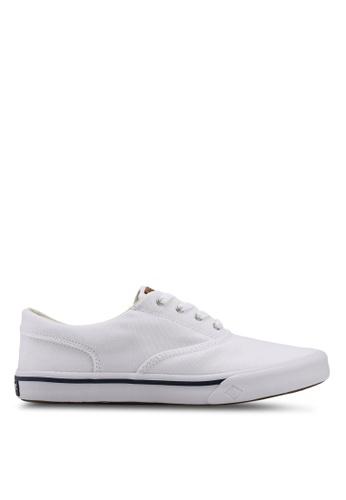 Sperry white Striper II CVO Saturated Sneakers 07AE4SH83D213CGS_1