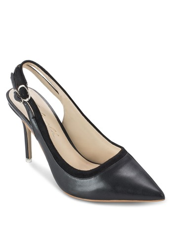 雙繞踝帶尖頭高跟鞋, 女鞋esprit女裝, 鞋