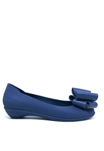 Twenty Eight Shoes blue Sweet Jelly Bow Ballerinas m071 D6F89SHD47970BGS_1