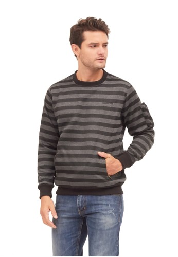 MUGABE black MUGABE mens sweater arion sinc 52436AAE2F24C8GS_1