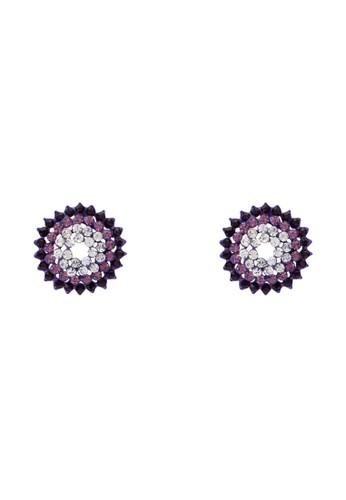 水晶esprit台灣官網花耳環, 飾品配件, 飾品配件