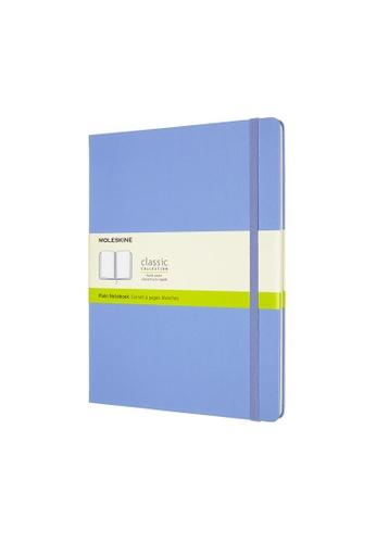 Moleskine blue Classic Notebooks Plain Hard Blue Xl F5207HLDE9E153GS_1