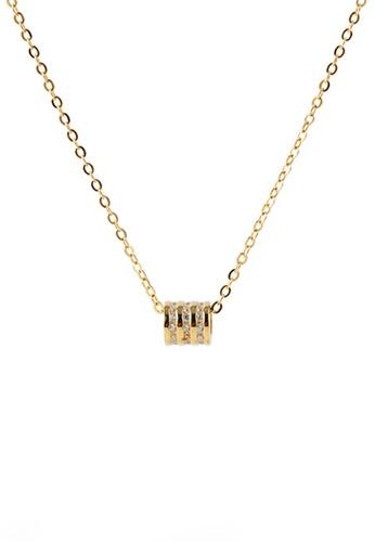 Twenty Eight Shoes gold VANSA Simple Cylinder Pendant Necklace VAW-N213 DDFF5ACC2E6D1FGS_1