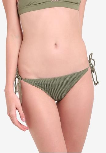 Billabong green Meshin With You Tropic Bikini Bottom BI783US99SIEMY_1