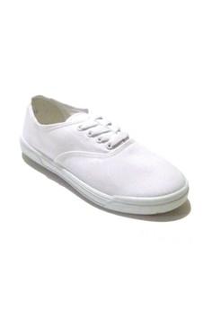 White Basic Sneakers for Women