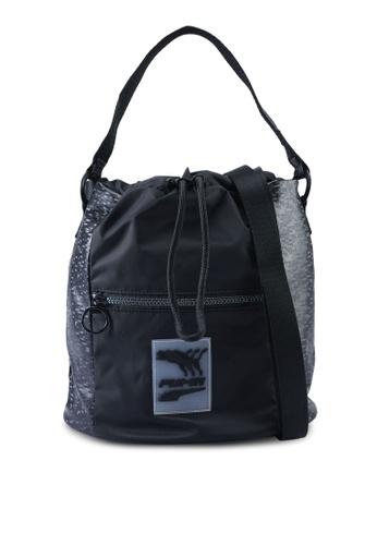PUMA black Prime Time Bucket Bag F302BACBE9EA9BGS_1