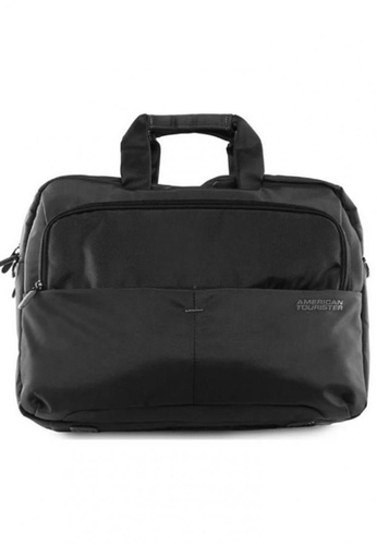 American Tourister black American Tourister SpeedAir 3-Way Bag (iPad) AM536AC56XCHSG_1