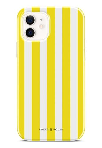 Polar Polar 黃色 黃色直紋雙層光面手機殼 iPhone 12 Pro / iPhone 12 A996DACA18DFE3GS_1