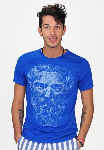 SJO & SIMPAPLY blue SPP Galileo Blue Men's Shirt 20D90AAF56C928GS_1