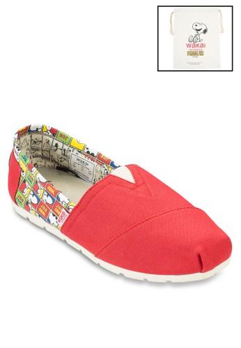 JCREesprit暢貨中心D 帆布懶人鞋, 女鞋, 鞋
