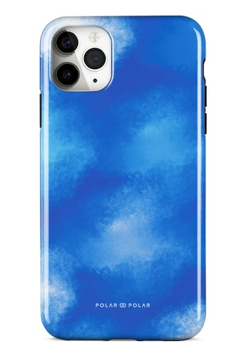 Polar Polar blue Clouds in Summer Dual-layer Tough Case Glossy for iPhone 11 Pro Max BF33CACEEDAD6BGS_1