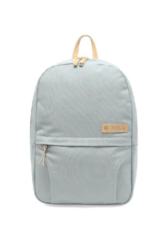 The Earth Canvas Daypack - Grey TH763AC90OIZHK_1