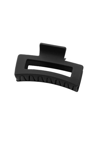 Glamorbit black Black Matte Claw Hair Clip 75D35AC9CFB3C0GS_1