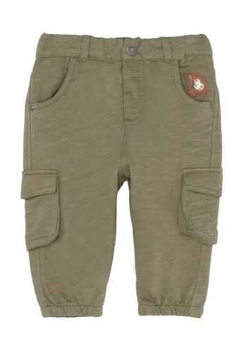 Du Pareil Au Même (DPAM) green Monkey Cargo Pants 8A762KA7482071GS_1