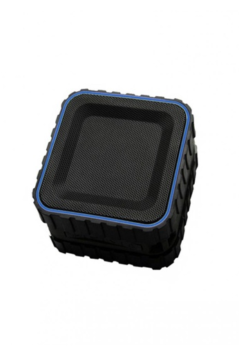 Latest Gadget black and blue Zilla HR686 Water Resistant Bluetooth Speaker with NFC LA734AC42NJXPH_1