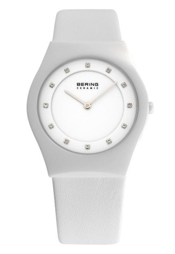 Bering white Ceramic 32035-659 White 35 mm Unisex Watch A67DEACB92DDE5GS_1
