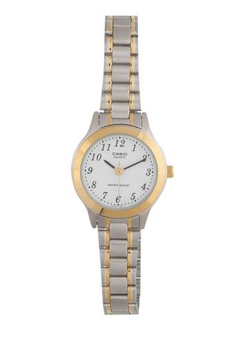 Casio gold and silver Casio Women LTP-1128G-7BRDF Silver Gold A5585AC314A147GS_1
