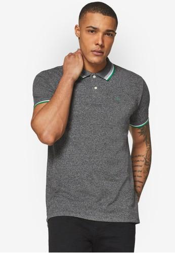 ESPRIT grey Piqué Polo Shirt 2FDDFAABA92734GS_1