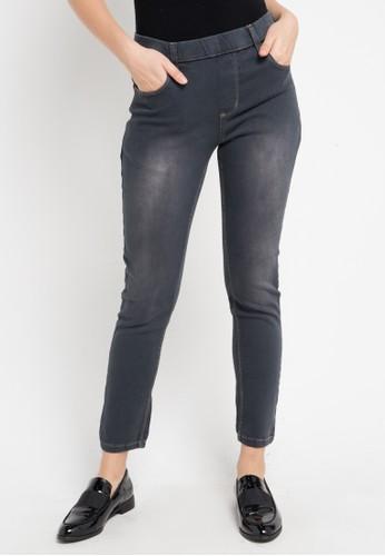 Triset Ladies grey Jegging Pants 010 06678AA6EACA66GS_1