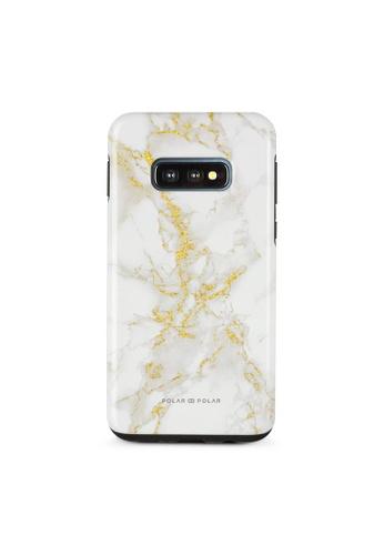 Polar Polar white Noble White Dual-Layer Tough Case Glossy For Samsung Galaxy S10E 14D2BAC92FBB9AGS_1