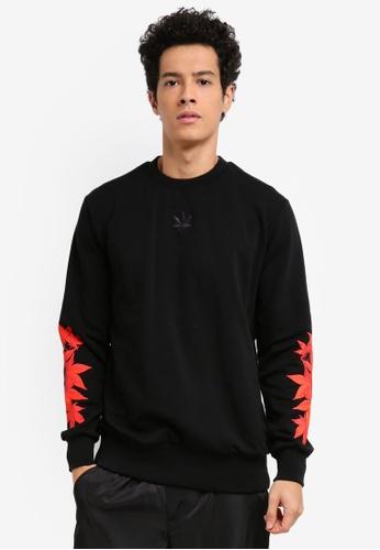 Stoned & Co black Descendant Epilogue Sweater 99C6BAAE883C81GS_1