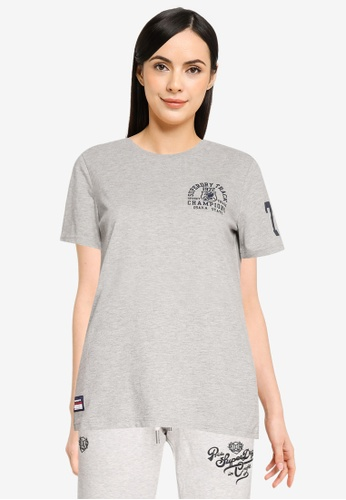 Superdry 灰色 T&f T恤 - Original & Vintage A6647AA50D7FDEGS_1