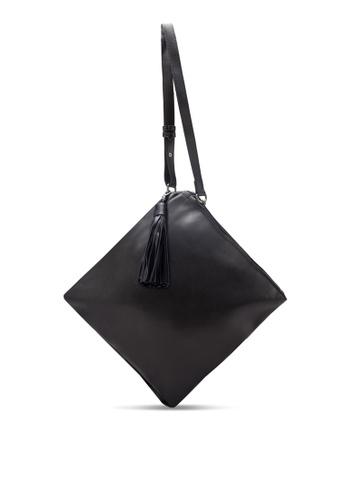 Something Borrowed black Tassel Prism Feed Bag A6CEEZZ4A4EB09GS_1