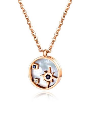 CELOVIS gold CELOVIS - Astrid Celestial Necklace in Rose Gold C7D8AAC04A0263GS_1