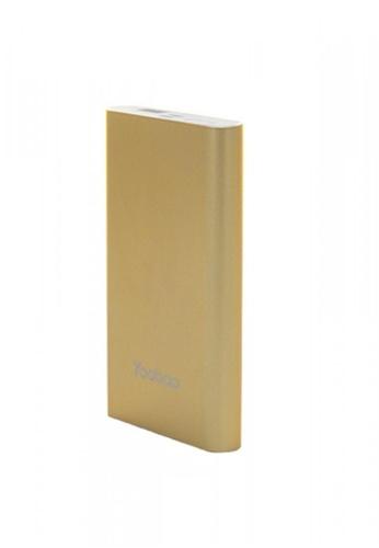 Latest Gadget gold Yoobao PL10 10000 mah Polymer Power Bank 966FDAC67A4699GS_1