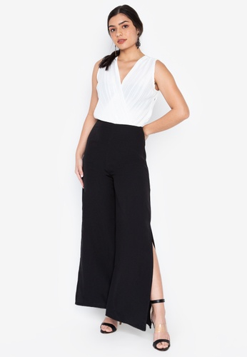 90ac0f9f7d62 Madelaine Ongpauco Barlao black and white Marianne Jumpsuit  BC33BAA946D2DFGS_1