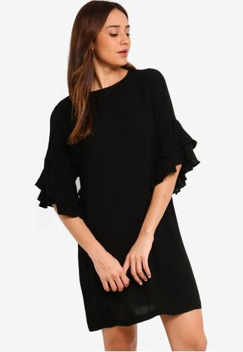 edaa7845a4 Ruffle Sleeves Dress