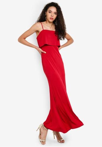 ecb1173fb5a Buy Preen & Proper Split-Front Maxi Dress Online on ZALORA Singapore
