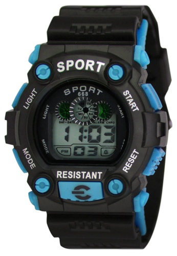 Dooka blue Multifunction Sports Watch 668 DO079AC88MDRPH_1