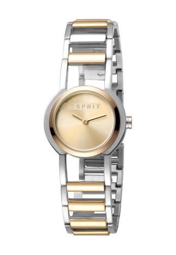 Esprit gold ESPRIT [Charm] 26mm Two-Tone Stainless Steel Women Watch [ES1L083M0045] 80EB0ACA76955CGS_1