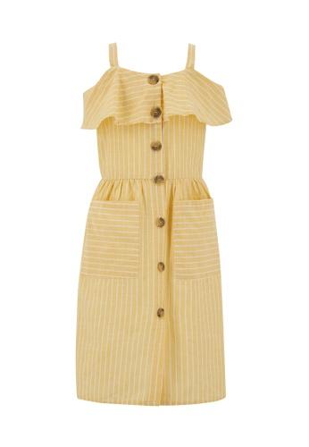 DeFacto yellow Girl Dress 3819CKA28F0102GS_1
