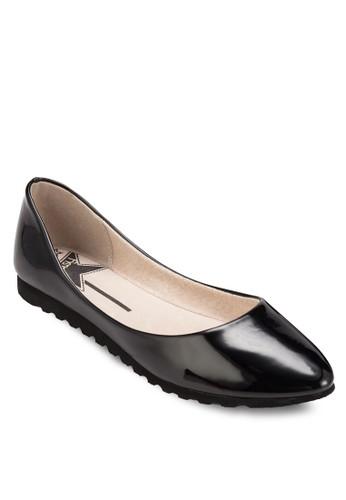 esprit hk暗紋尖頭平底鞋, 女鞋, 鞋