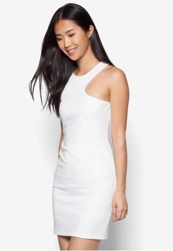 挖肩無袖連身裙, esprit 尺寸服飾, 洋裝