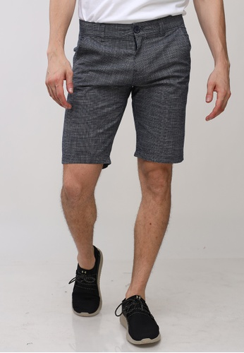 Ego blue Tapered Shorts CEBDEAA4F1DB13GS_1