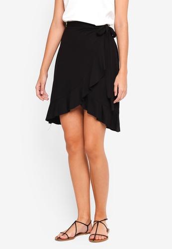 Max Studio black Knit Mini Skirt 8ACA7AA280746CGS_1