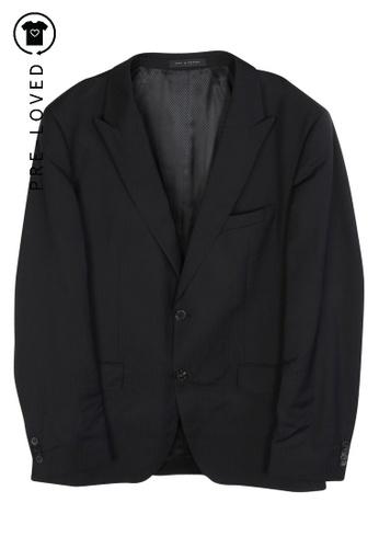Hugo Boss black Pre-Loved hugo boss Black Suit, Striped Tie 93170BEFBD1BD0GS_1