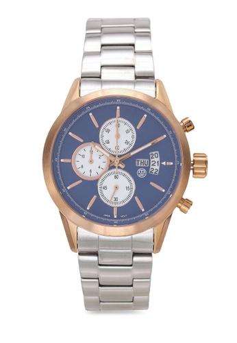 Massa Collections blue Nobler Steel Blue Rose Watch for Men 34A05AC5CD8155GS_1