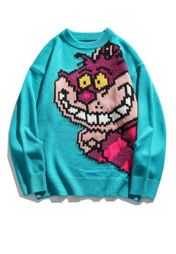 Twenty Eight Shoes Trend Cartoon Knit Sweater HH05119 D5E2CAA3E250C1GS_1