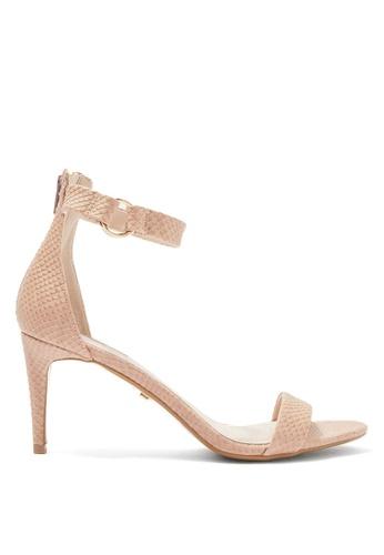 TOPSHOP beige Ring Heeled Sandals D31C4SH92E6F52GS_1