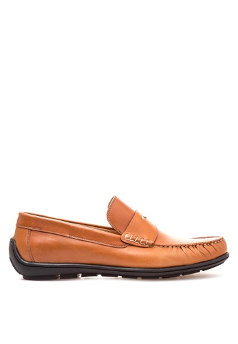 Bristol Shoes brown Sawyer penny loafer driving shoes BR842SH24KDZPH_1